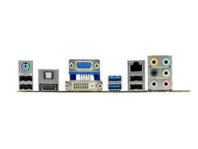 I/O Shield BACKPLATE FOR ASUS P8Z68-V LX & M5A78L-M/USB3 & M5A88-M