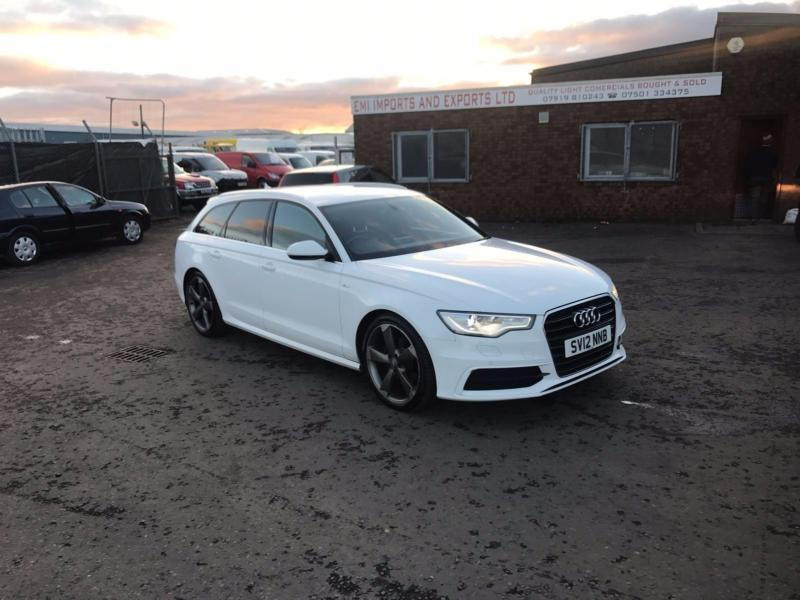 2012 12 plate audi a6 avant 2 0tdi 177ps c7 s line in kirkcaldy fife gumtree. Black Bedroom Furniture Sets. Home Design Ideas