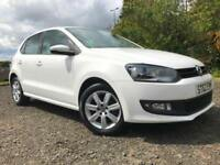 *6 MTHS WARRANTY*2012*62)VW POLO 1.4 MATCH 5DR WITH ONLY 44K FSH*