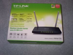 TP-Link Wireless Dual Band Gigabit router AC1200
