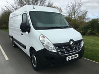 2015 65 RENAULT MASTER 2.3 DCI 125BHP BUSINESS 1 COMPANY OWNER ONLY 33,000 MILES