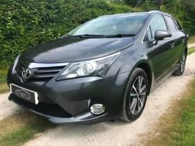 2014 64 TOYOTA AVENSIS 2.0D-4D ICON BUSINESS EDITION ESTATE SAT NAV LOW MILES