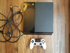 PS4 500GB console with controller