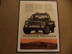 OLD CLASSIC CAR JEEP ADS Windsor Region Ontario image 2