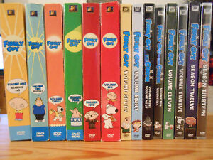 Family Guy DVD complete collection all 13 seasons