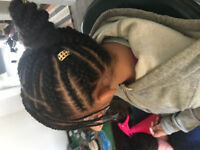 Hair Braiding services !!! WITH 18 INCH 1B HAIR INCLUDED!!!!!!
