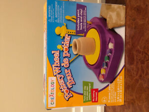 """""""Brand New in Box""""..... Pottery Wheel from Matermind."""