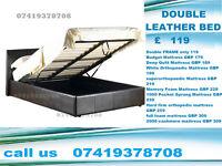 Double and Kingsize leather Base/ Bedding