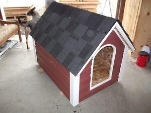 tres belle niche a chien neuve