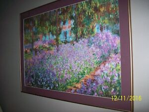 Beautiful framed picture - by Monet