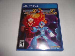 MEGA MAN MEGAMAN X LEGACY COLLECTION 1+2 NEUF PS4 PLAYSTATION 4