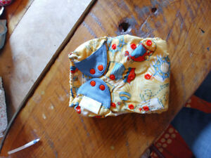 Cloth diapers and wet bags
