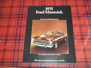 BROCHURE AUTO MAVERICK ( 1975 )