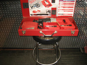 two millwaukee 18 vt battery sawzalls in cases w/accessories Kingston Kingston Area image 10