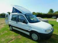 2 Berth Stimson Provence Peugeot 1.4 Petrol Pop Top Camper Van for Sale