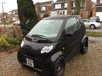 Smart Fortwo 700cc £30 Road Tax