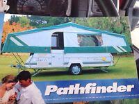 6 berth deluxe Pennine pathfinder popup tent caravan