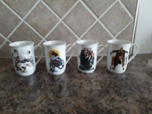 Norman Rockwell Collector Coffee Mugs