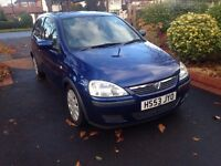 2004 Vauxhall Corsa 16 V 1.2L 3 DR Manual LOW MILEAGE IDEAL FIRST CAR