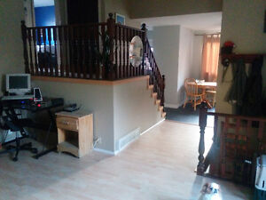 Upstairs Room for rent: $750 rent, shared cost of utilities/SHAW