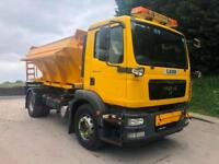 2011 11 MAN TG-M 18.250 Econ 6m3 gritter, plough bracket