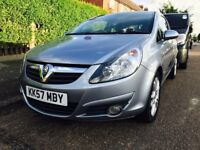 57 2007 VAUXHALL CORSA 1.2 SXI 3DR LOW MILEAGE SMOOTH DRIVE QUICK SALE