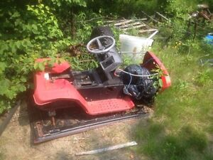 12hp MTD lawn tractor for parts. Motor rear end and body. $250.