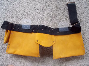 Suede Heavy Duty Carpenter's Tool Belt-BRAND NEW! London Ontario image 2