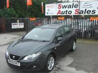 2009 SEAT IBIZA SPORT 1.4L ONLY 73,388 MILES, FULL SERVICE HISTORY, 1 OWNER