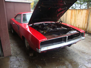 1969 dodge charger project car