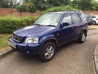 HONDA CRV 2001 AUTOMATIC. LONG MOT. LOOK AND DRIVES PERFECT