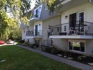 2 Bdrm - carpet free - updated and bright - Available Oct 1st
