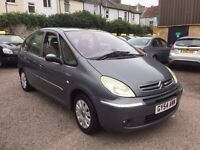Citroen Xsara Picasso 2.0 i 16v Exclusive 5dr£1,595 one owner,low mileage