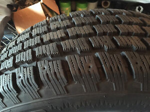 Great Set Of Winter Tires Cambridge Kitchener Area image 1