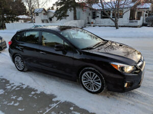 2013 Subaru Impreza Dark Cherry Hatchback