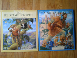 NEW BOOKS- Classic Fairy Tales& Bedtime Stories (over $25 each)