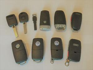AUDI / VW / VOLKSWAGEN - KEYS - REMOTES - FOBS - TUNING