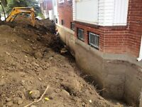 DRAIN FRANCAIS / FRENCH DRAIN (RBQ licensed contractor)
