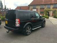 2012 Land Rover Discovery 4 3.0 SDV6 AUTO COMMERCIAL LUXURY.BLACK LTH,SAT NAV,RE