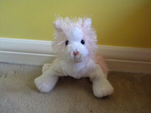 Webkinz Pink and White Stuffed Cat Cambridge Kitchener Area image 1