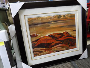 Picture Lake Superior A.Y. Jackson #'d, Signed 727-5344
