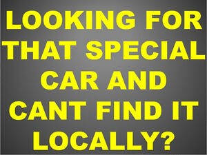 Found that special car in Montreal, Ottawa, Toronto? call us!