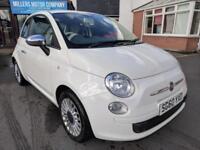 2010 Fiat 500 POP 1.2 START/STOP | 3 Door | White | Manual