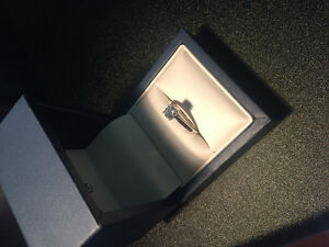 Diamond Solitaire Engagement Ring ( Appraised at $7500 )