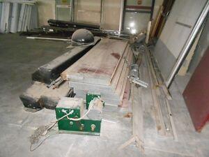 14' high garage door with opener