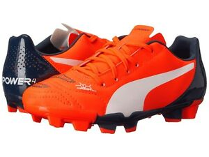 evopower 4.... kids size 3 soccer cleats