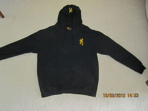 Like hunting and fishing? Large Browning Sports Hoody