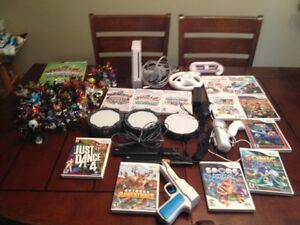 Wii game set!