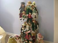 collectable porcelaine dolls