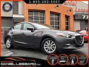 Mazda MAZDA3 SE CUIR, AUTOMATIQUE, CLEAN TITLE !  2017